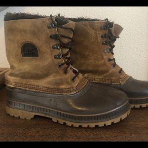 Sorel Steel Shank Waterproof Leather Winter Snow